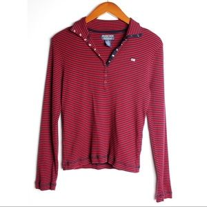 POLO JEANS CO Vintage Striped Long Sleeve